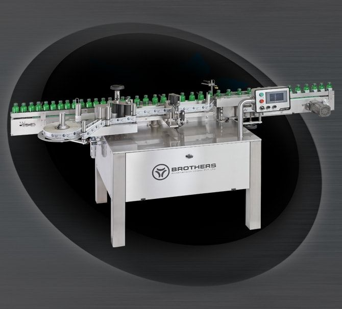 Automatic High Speed Sticker Labelling Machine