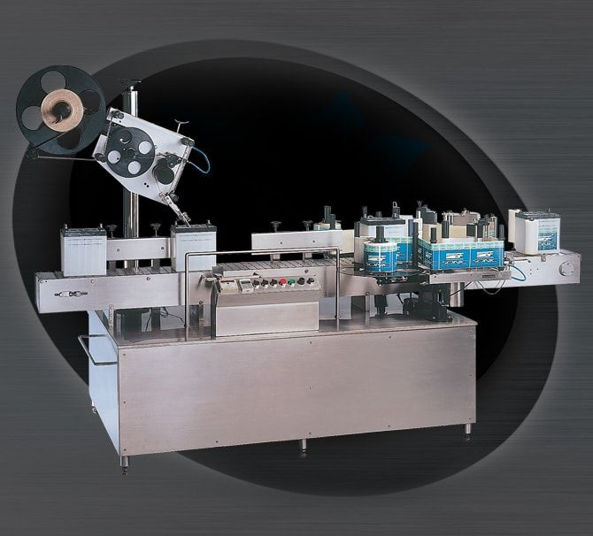 Series Front Back and Top Application Sticker Labelling Machine